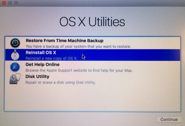 Re-Installing OS X El Capitan/Yosemite (Unable to Download OS X El